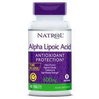 Антиоксидант Natrol Alpha Lipoic Acid 600 мг